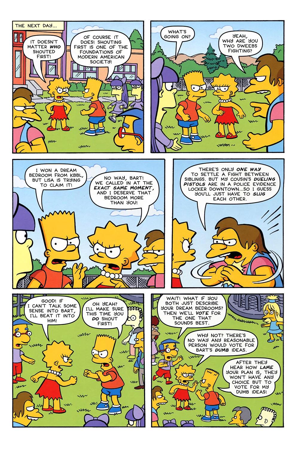 Simpson porn comic