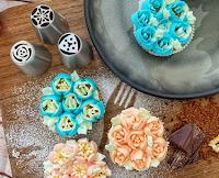 Logo Vinci gratis set floreale CakePro per decorare le torte