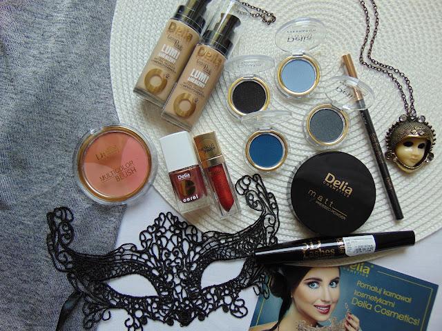 Kosmetyki kolorowe od Delia Cosmetics