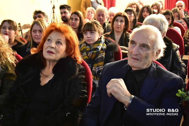 Με Χρυσούλα Διαβάτη και Νικήτα Τσακίρογλου ξεκίνησε στο Ναύπλιο το 5ο Φεστιβάλ Κινηματογράφου Πελοποννήσου