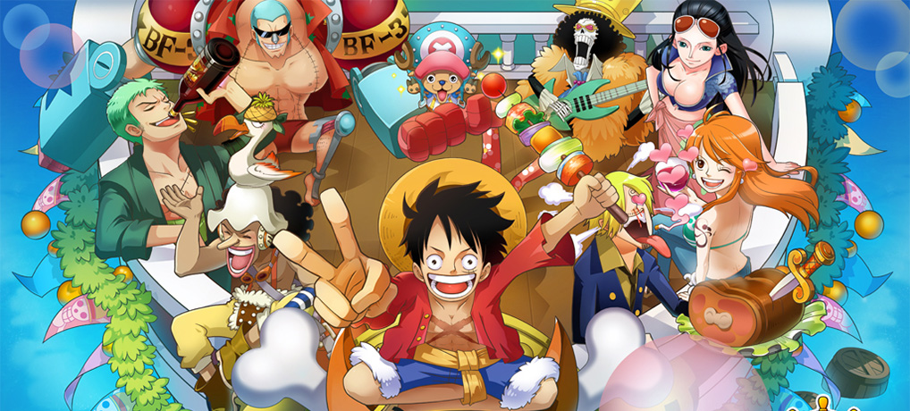 One Piece : Reveals Smartphone Game One Piece Bounty Rush.