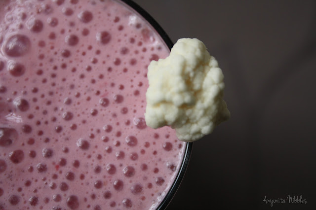 Cherry and Cauliflower Smoothie