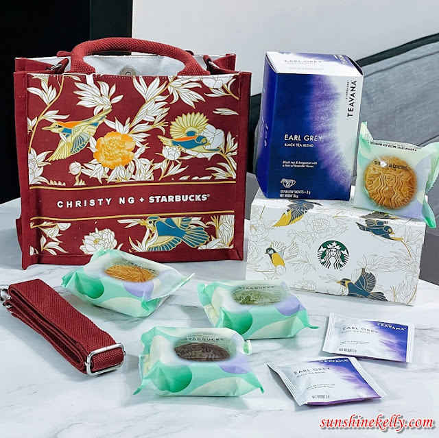 Starbucks x Christy Ng Limited Edition Mooncake Set, Starbucks Malaysia,  Christy Ng, Limited Edition Mooncake Set, Mooncake, Food
