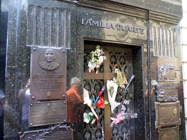 túmulo Evita Peron
