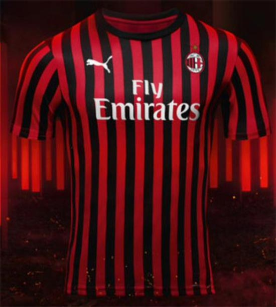 check out e936f 1e63a Milan 19-20 Home Kit Revealed - Footy Headlines