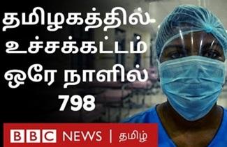 Corona Virus in Tamil Nadu: 798 affected in single day