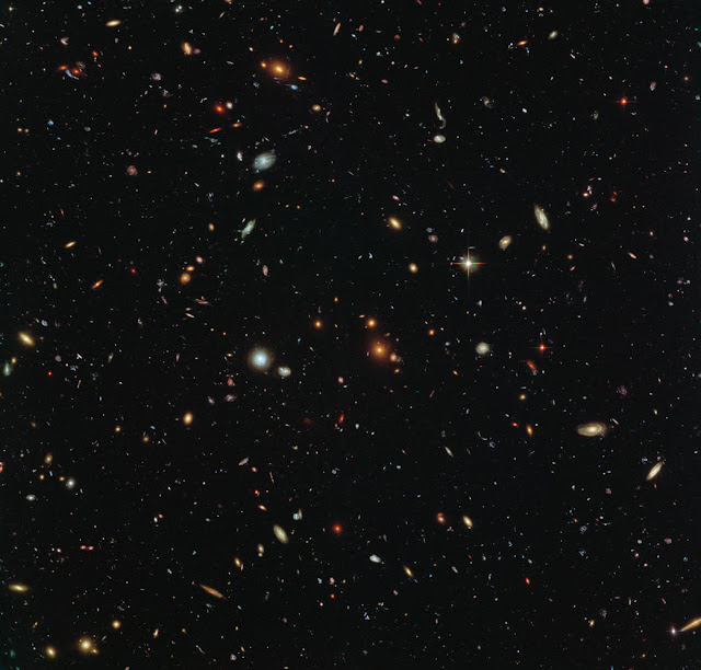 Research Hubble Sees a Legion of-Galaxies