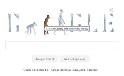 41st anniversary of the discovery of lucy, Siapakah Lucy si Australopithecus, who is Lucy the Australopithecus