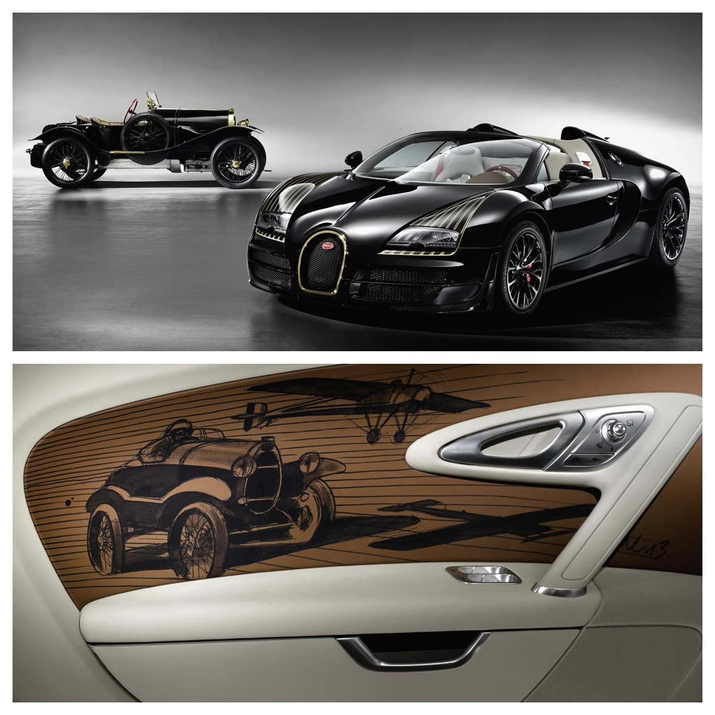 A New Bugatti Veyron Limited Edition: Veyron Grand Sport Vitesse Black Bess