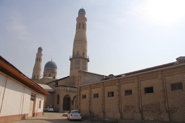 Ouzbékistan, Andijan, Mosquée Jumi, © L. Gigout, 2012