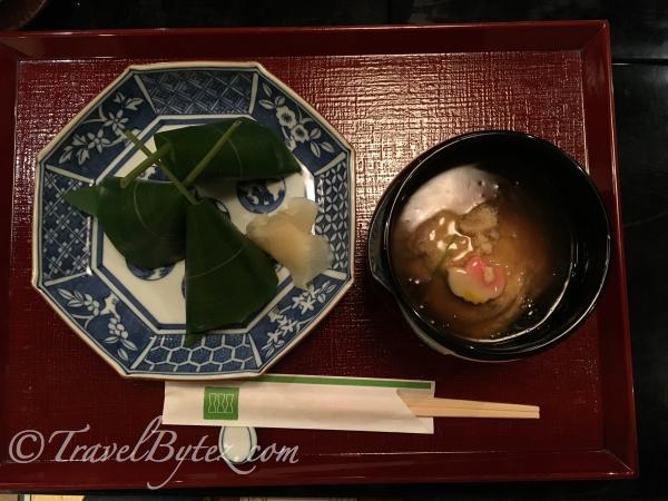 棗そばと笹巻き寿司