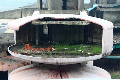 Parque acuático abandonado