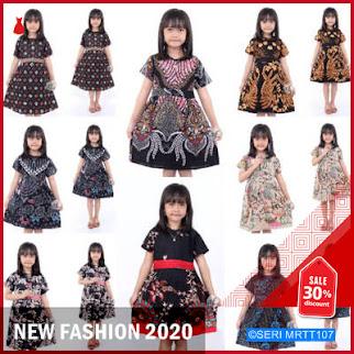 MRTT107D68 Dress anak batik waow Keren BMGShop