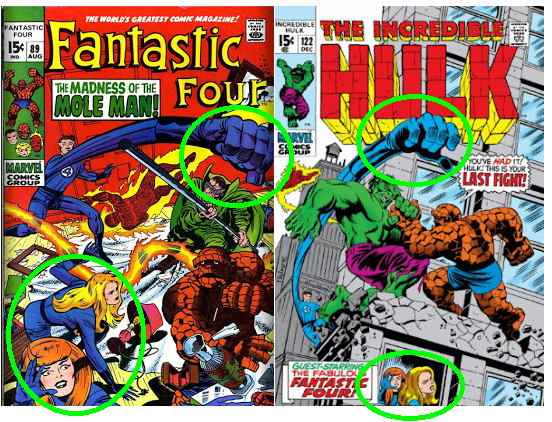 Hulk 122 Fantastic Four