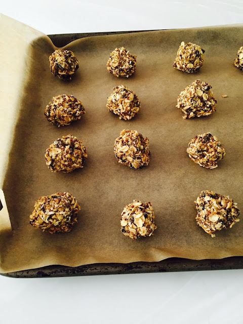 oat chocolate energy balls