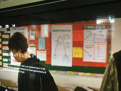 It's not everyday you get to see your math posters in a Netflix movie! Slope Poster and Quadratic Keywords Poster in Hillbilly Elegy.