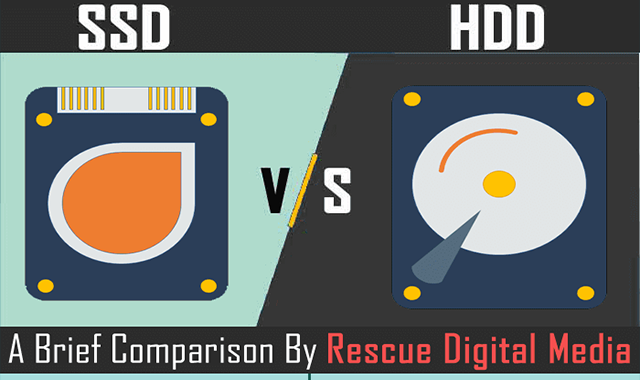 SSD Vs HDD: Solid State Drive And Hard Disk Drive Comparison