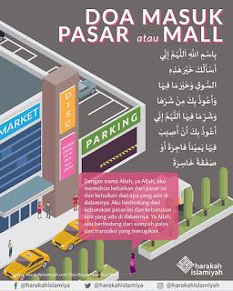 Doa Masuk Pasar atau Mall - Doa - Kajian Medina