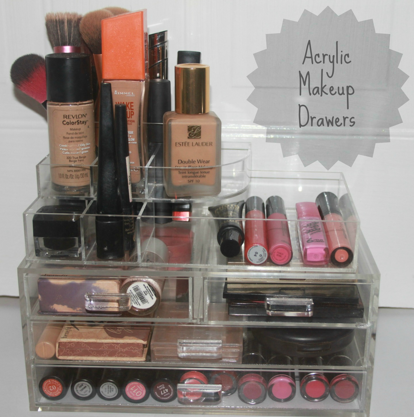 The Big Burd: Acrylic Makeup Storage Kardashian Style!