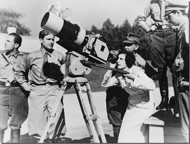 "Leni Riefenstahl, the German film maker whose ""Triumph of Will"" became the chief propaganda tool for the Nazis"