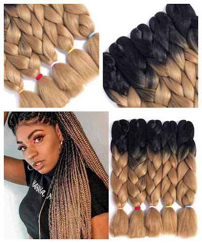 Blonde and black 24 Inch Ombre Jumbo Braid