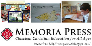 Memoria Press (TOS Review)