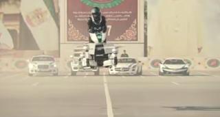 Begini Tampilan Motor Terbang Polisi Dubai