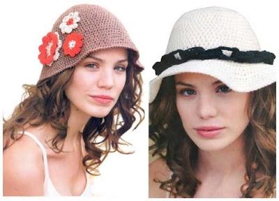 2 Sombreros clásicos a ganchillo muy fáciles de tejer