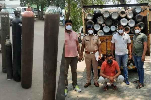 congress-leader-bijender-mavi-arrested-oxygen-cylinder-black-marketing