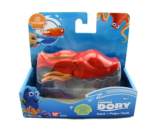 finding dory swimming bath toys bandai hank