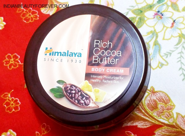 Himalaya rich cocoa butter body cream review for Is cocoa butter good for tattoos