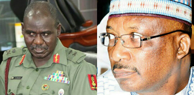 Why Buratai, Danbazau were not indicted in arms scandal report