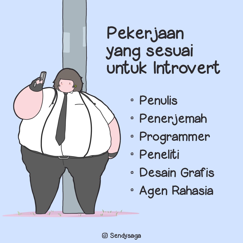 job for introvert, pekerjaan untuk introvert