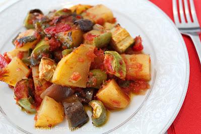 Piatto vegano, cucina vegetariana