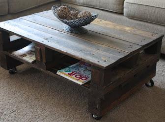 Mueble palets de madera