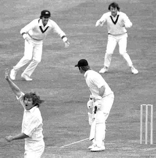 First ever World Cup Semi-final Match in Cricket History - Dennis Amiss lbw