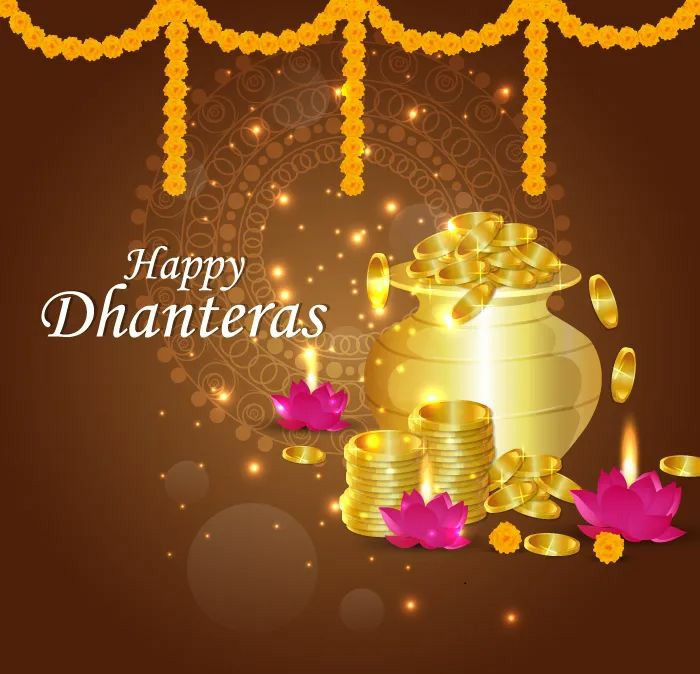 Happy Dhanteras 2021 images wishes