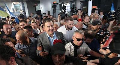 Саакашвили вернулся в Украину