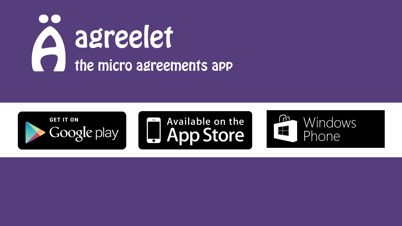 agreelet, the micro-agreements app