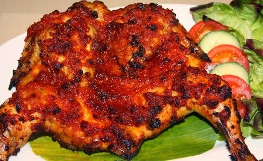 Ayam Taliwang - Kuliner Lombok