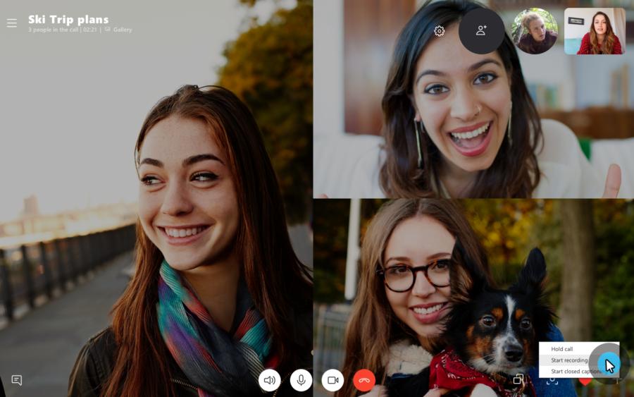 Skype si aggiorna in Windows 10 e perde l'etichetta Preview