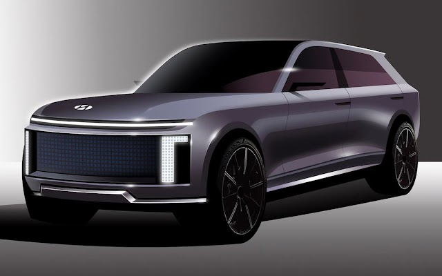 Ioniq 7: el buque insignia de Hyundai será un gran SUV eléctrico de siete plazas