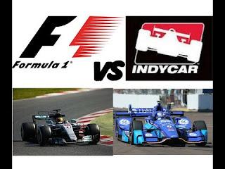 indy car vs f1 car