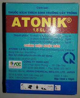 thuốc kích thích sinh trưởng mọc rễ atonik 100 ml