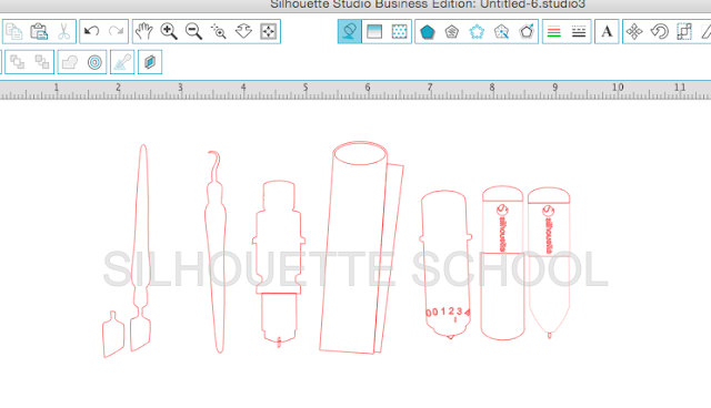designing in silhouette studio, silhouette cameo, how to design in silhouette