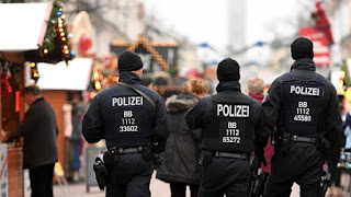 German Police Step Up Presence at Christmas Markets