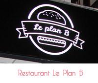 le plan b restaurant