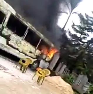 The house of hope Uzodimma is set ablaze