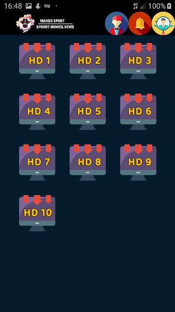 تحميل تطبيق MANDO SPORT النسخة الجديدة 2020 لمشاهدة القنوات المشفرة بجودات متعددة