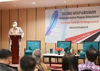 Tingkatkan Kualitas Pelaporan Sidang Kabinet, Setkab Gelar FGD Tata Bahasa Transkripsi